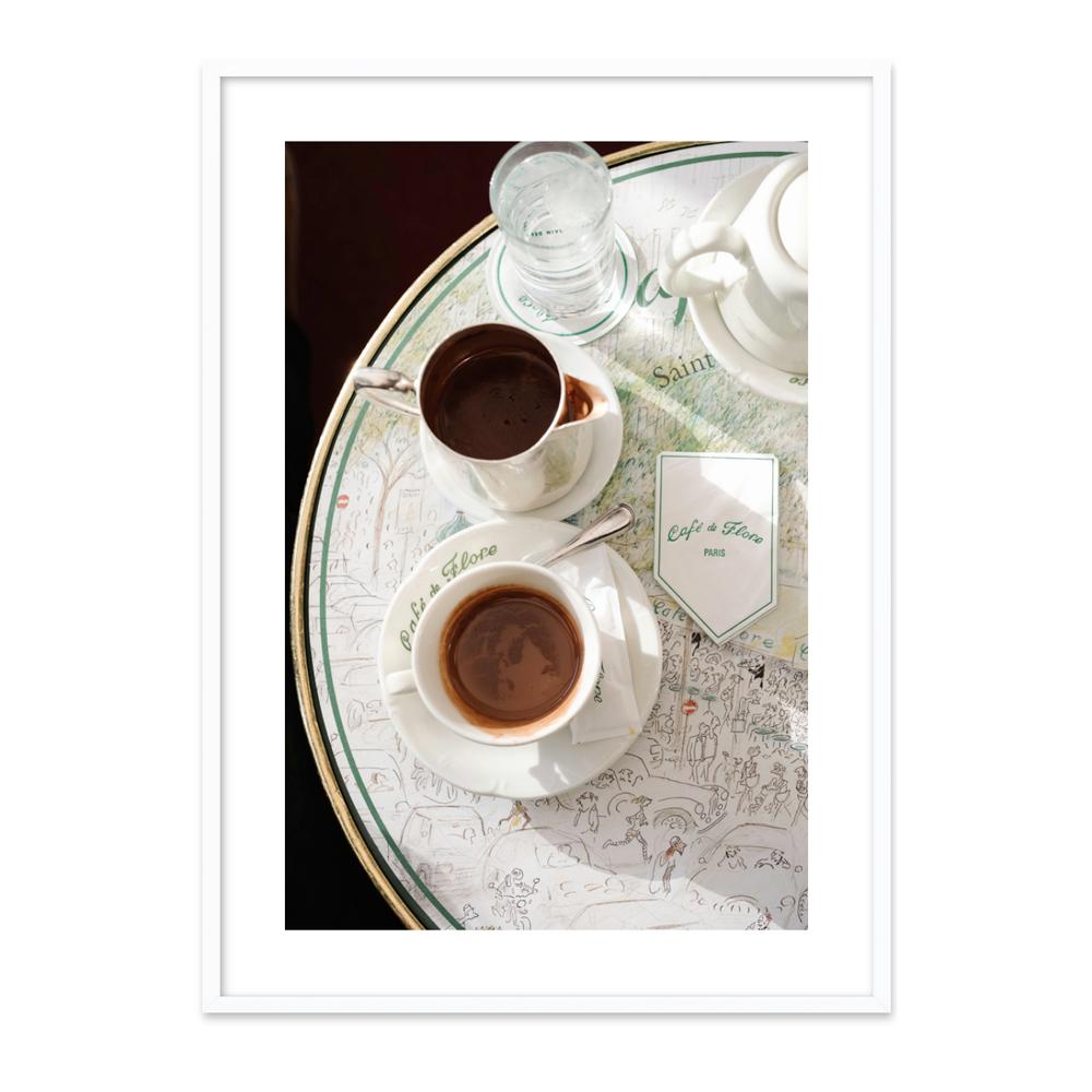 Chocolat chaud au Café de Flore  BY LAUREN & ANNAEL TOLILA