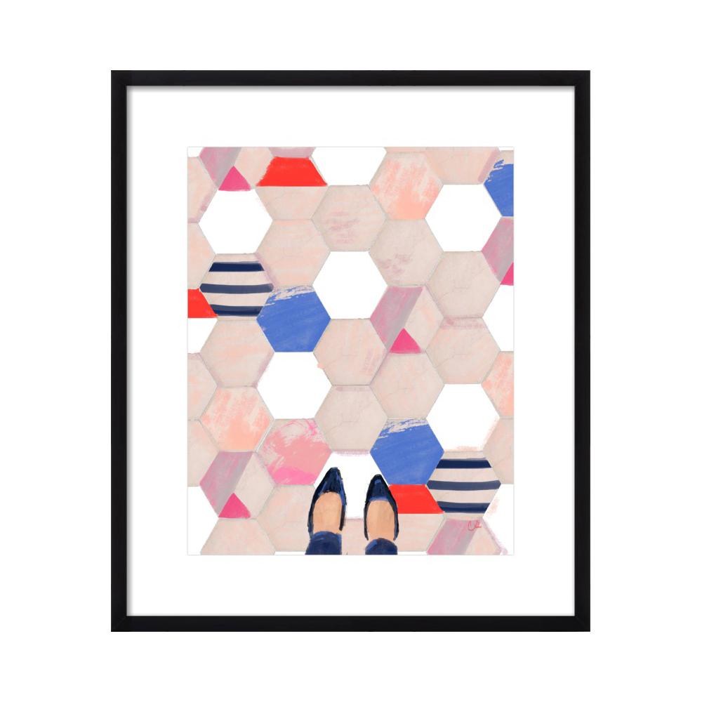 Tiles in Paris  BY CAT SETO
