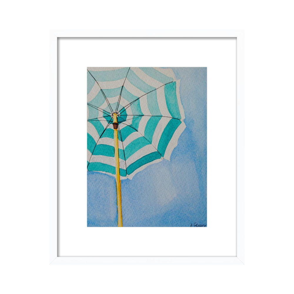 Stripes (Beach Umbrella Series)  BY JEN SCULLY