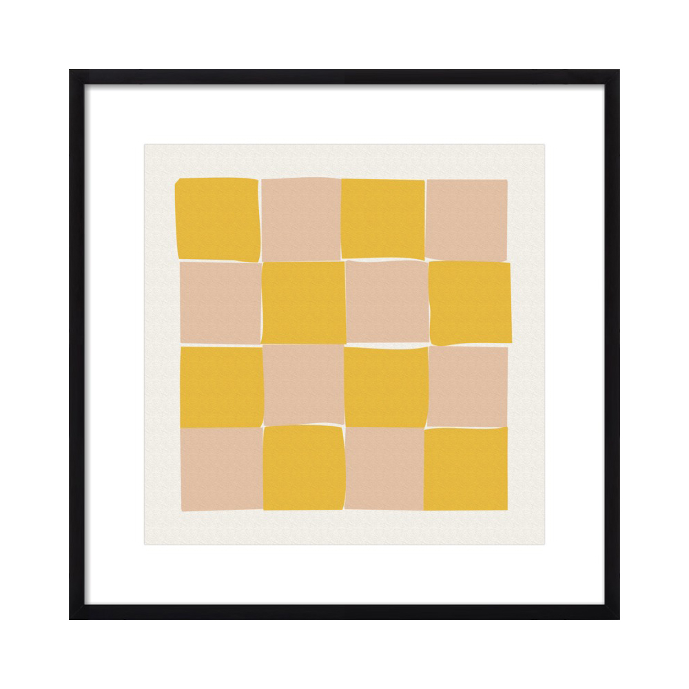 Checkered 2  BY KATHERINE PLUMB