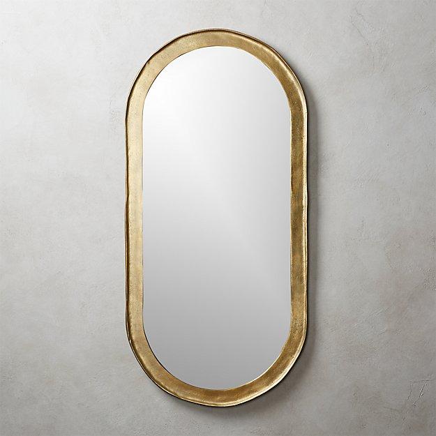Abel oval mirror