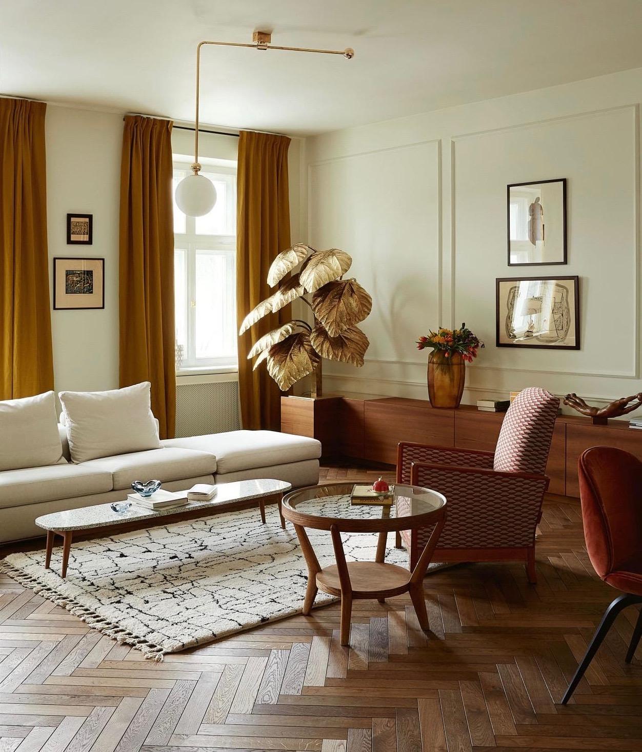 Interior design by  Marta Chrapka  via  This Is Glamorous .
