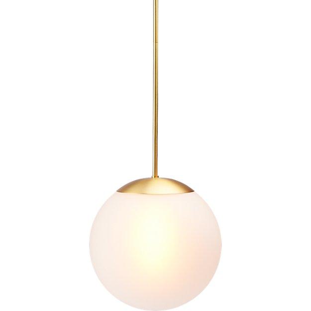 vega indoor-outdoor brass pendant light