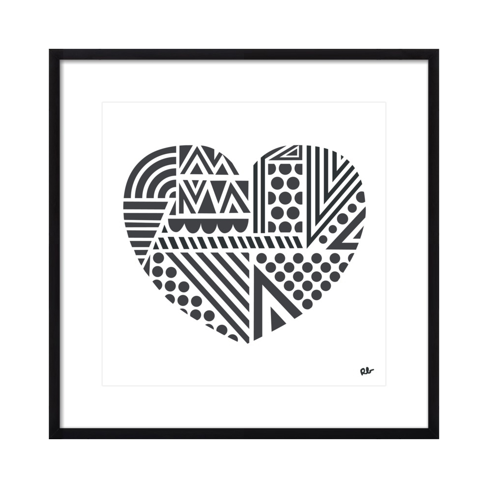 Geo Heart  BY ROB BLACKARD