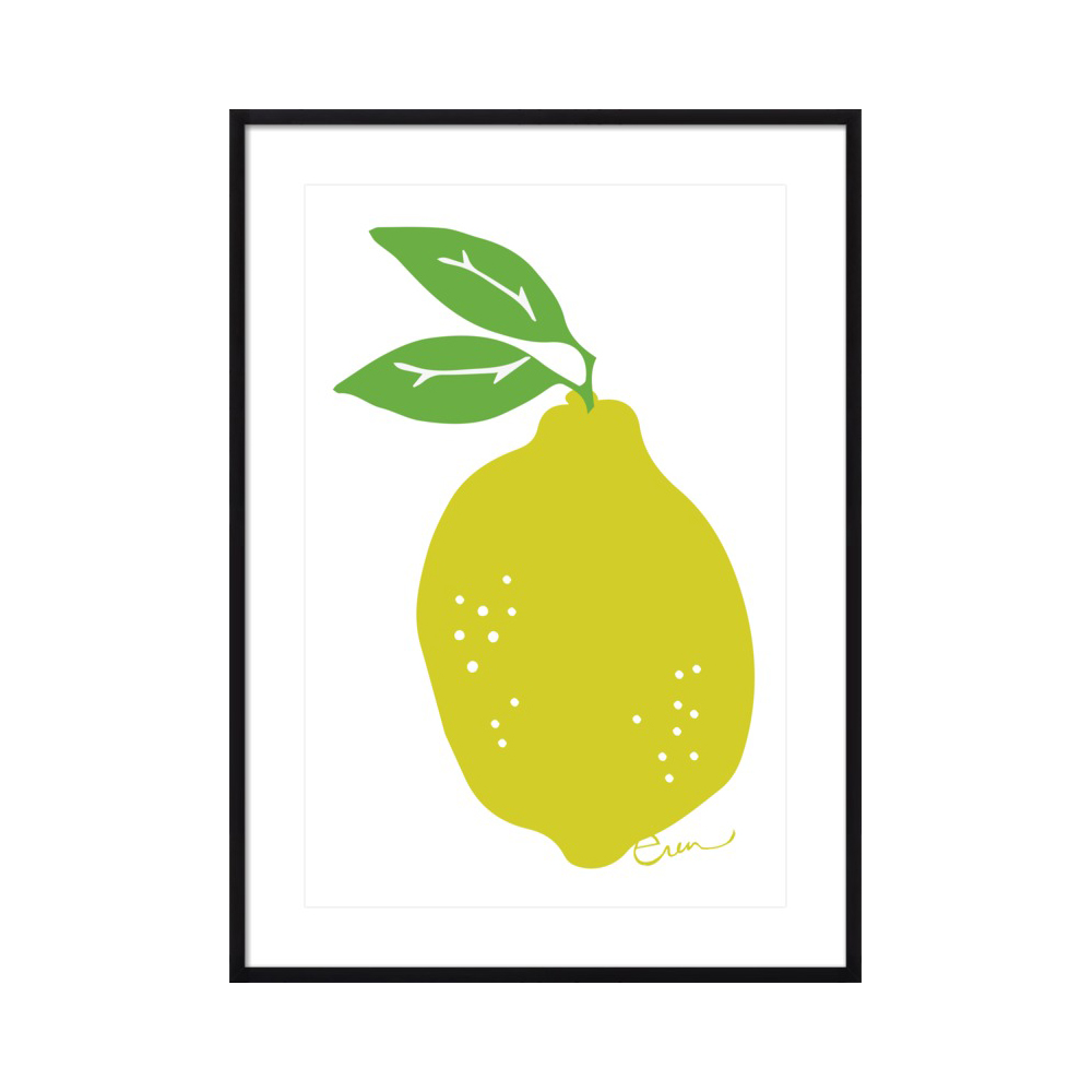 Lemon  BY ERIN FLETT