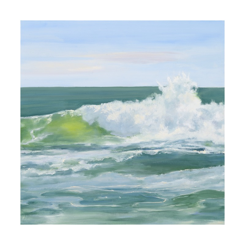 Sea Glass Wave  BY CASEY CHALEM ANDERSON