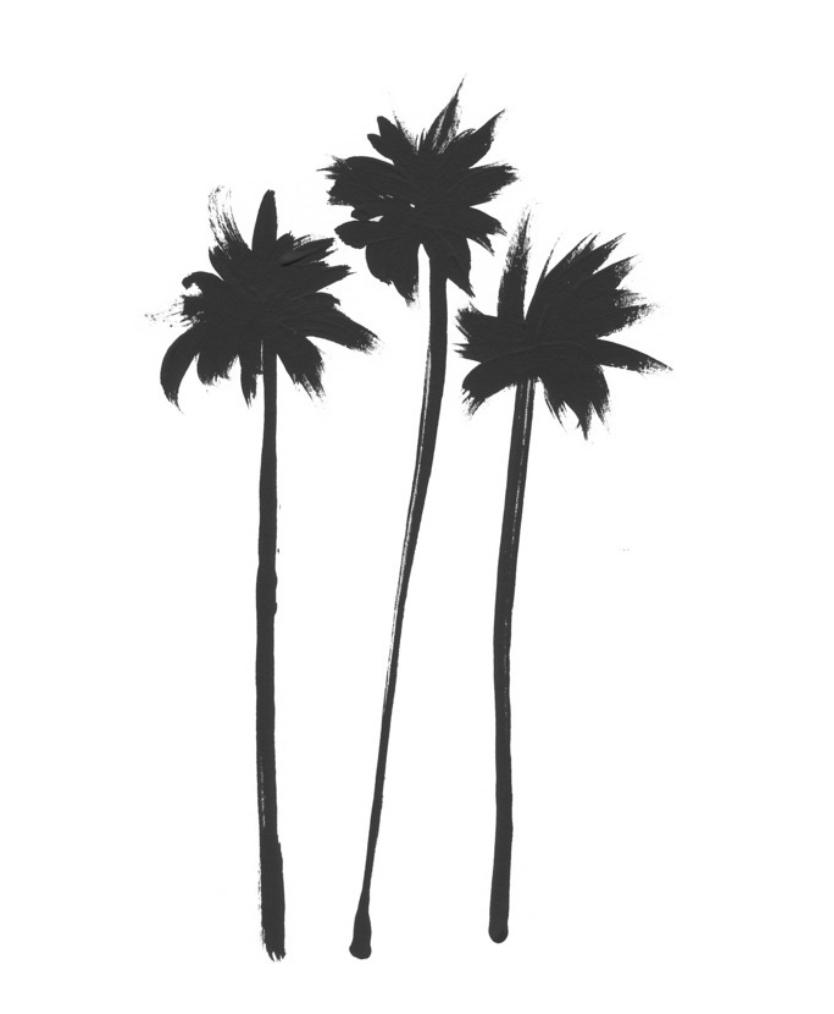 Three Palms  BY JAN WEISS