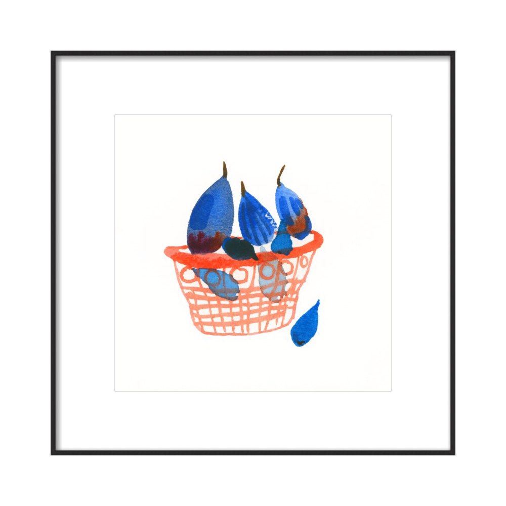 Figs in a basket  BY CAROLYN GAVIN