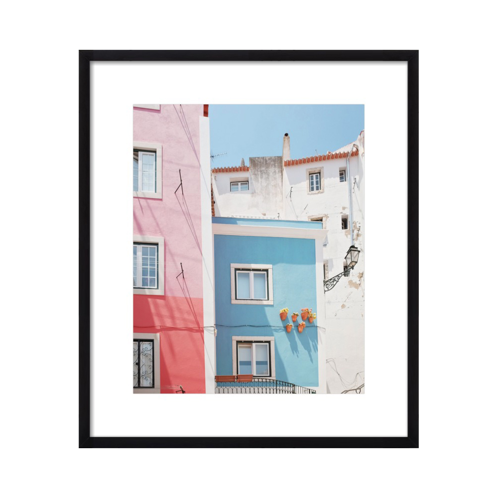 Lisbon Pink and Blue  BY LUPEN GRAINNE