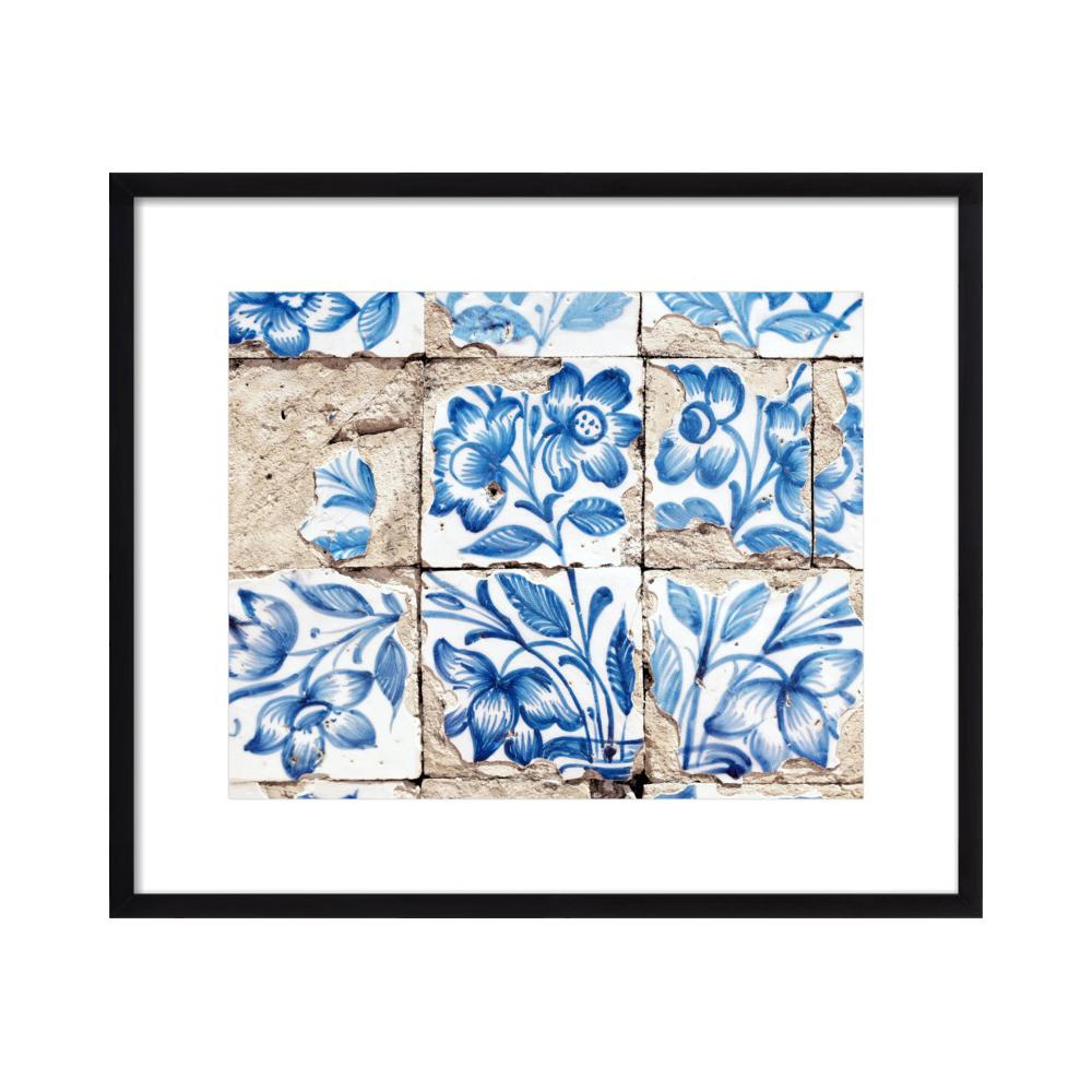 Lisbon Floral Tiles Five  BY LUPEN GRAINNE