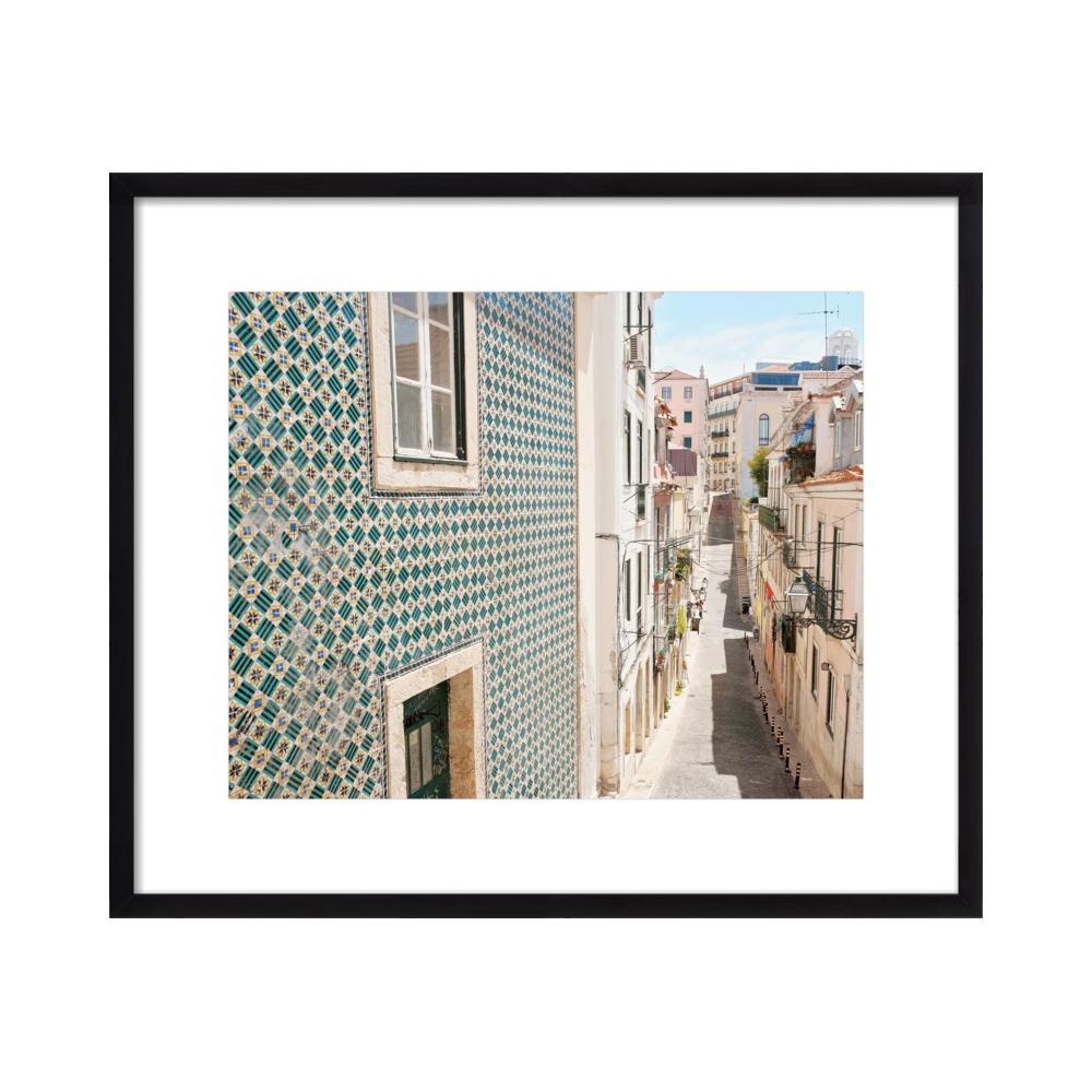 Tiles Above Street  BY LUPEN GRAINNE
