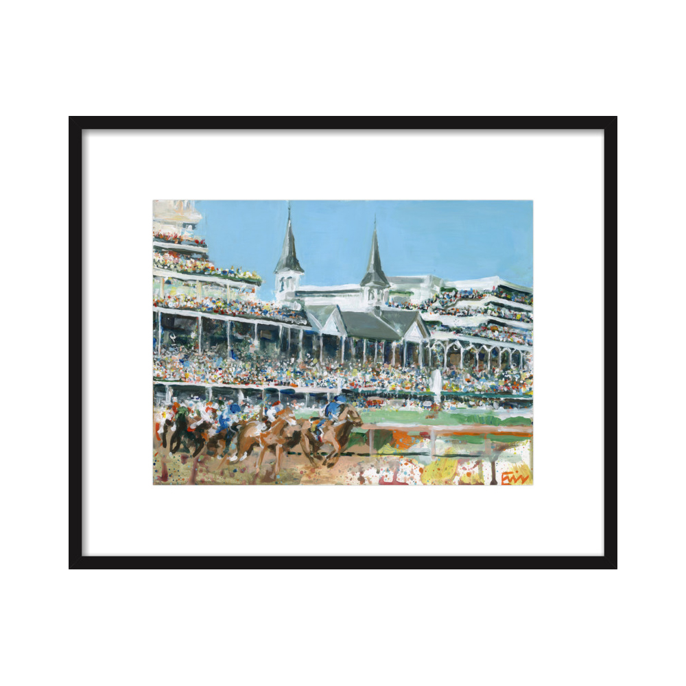 Churchill Downs  BY ERIN TAPP