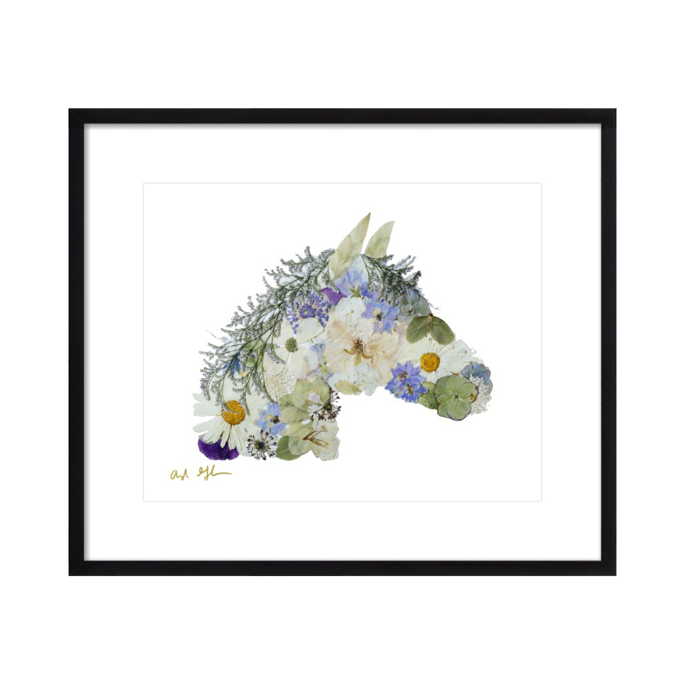 Floral Horse  BY AYLA GRAHAM