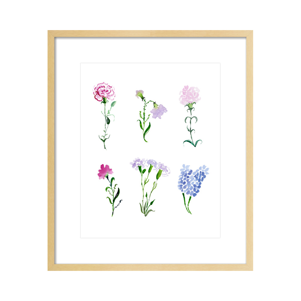 Les Fleurs  BY JILL DELAVAN