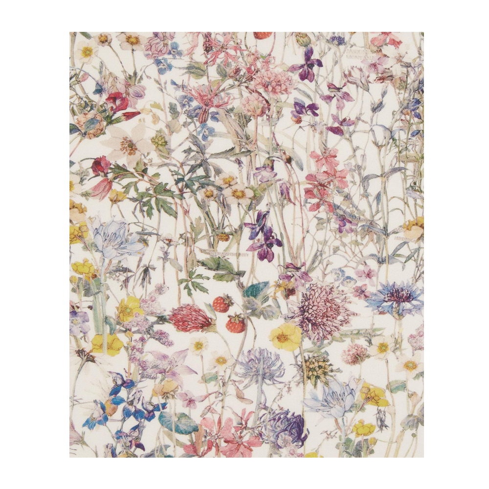 LIBERTY FABRICS Wild Flowers Tana Lawn Cotton
