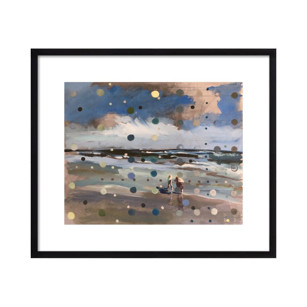 Beach Scene from memory  BY HANNAH DEAN