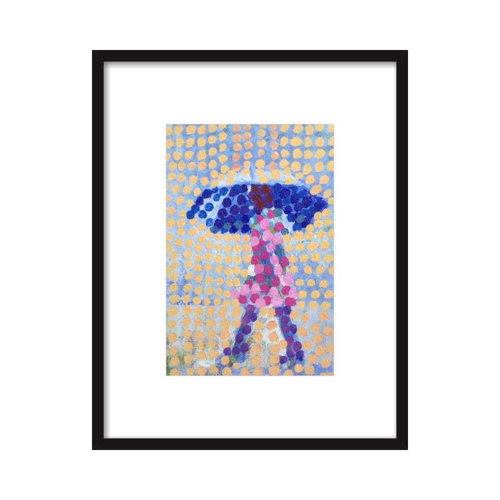 Blue umbrella  BY JOSEPH MAHON