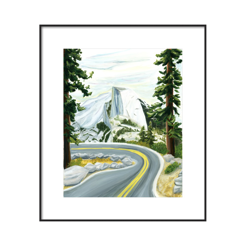 Half Dome  BY KATE WONG