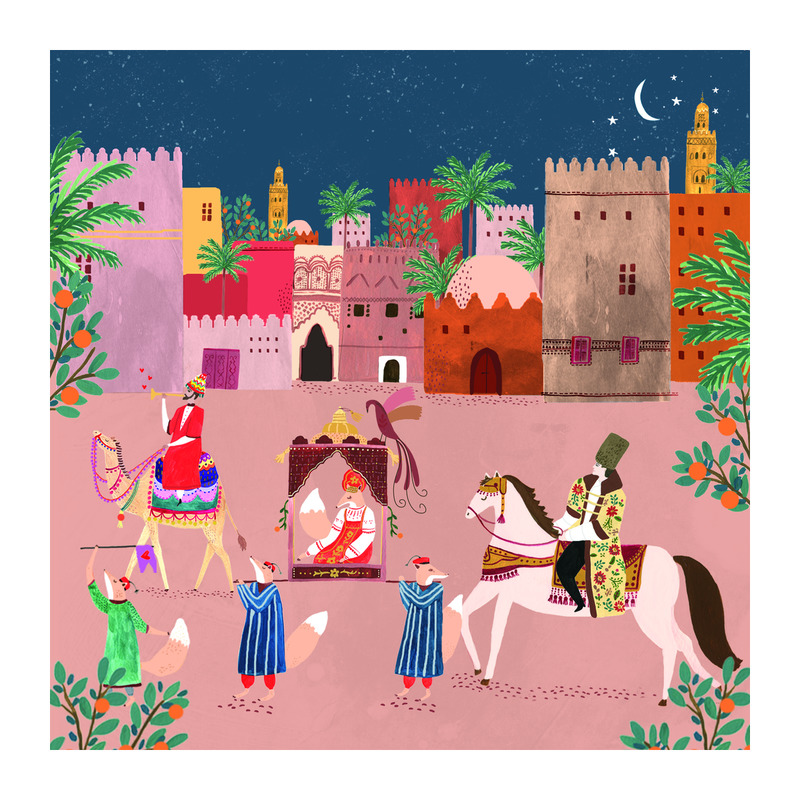 Arabian Nights  BY ROSIE HARBOTTLE