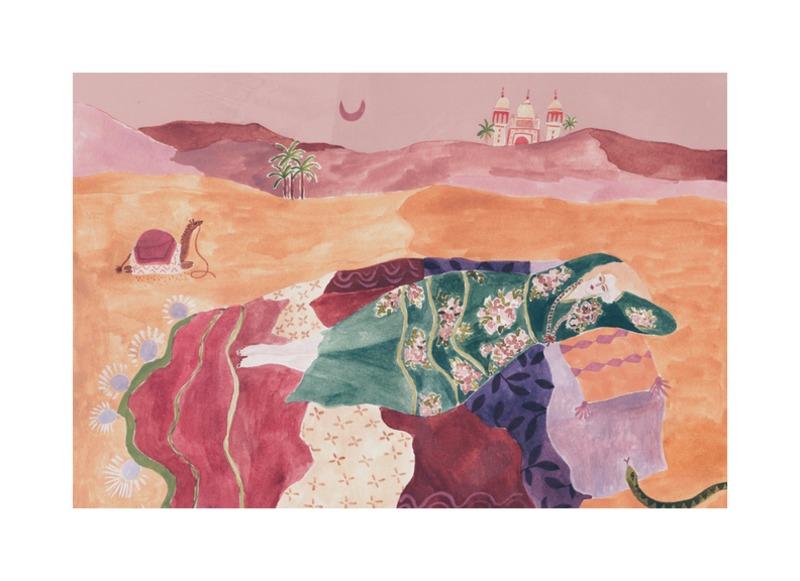 Desert Dreaming  BY ROSIE HARBOTTLE