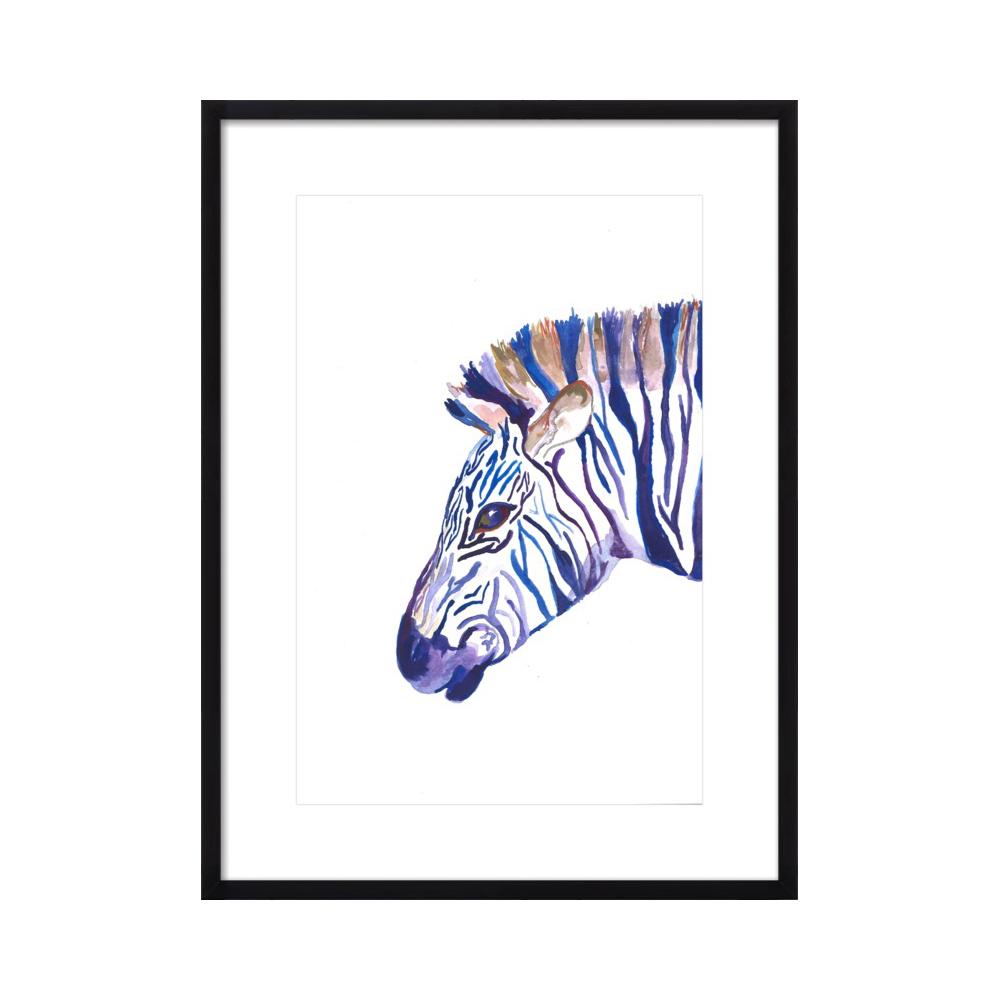 zebra  BY LARSEN MCDOWELL