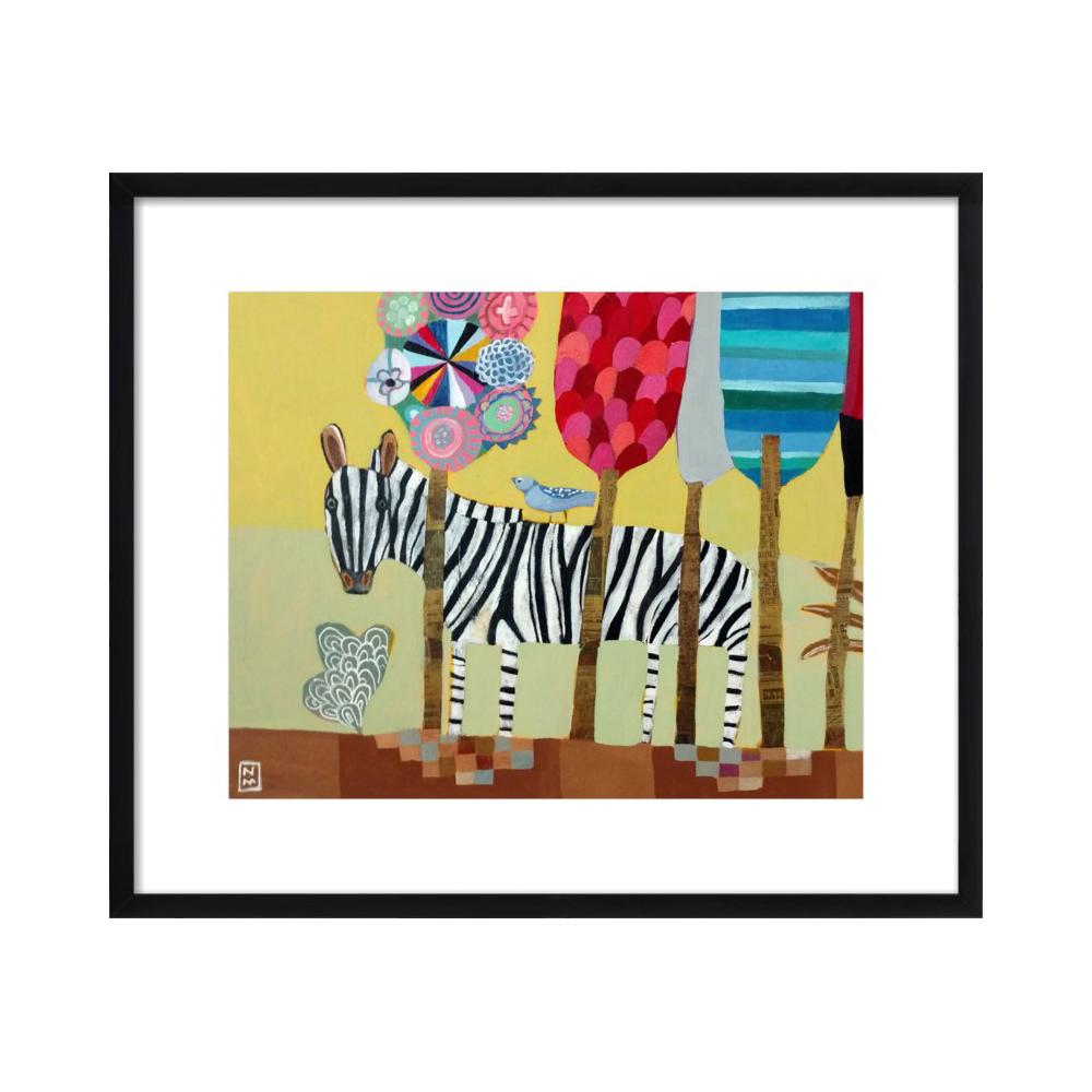 Traverling Zebra  BY NATHANIEL MATHER