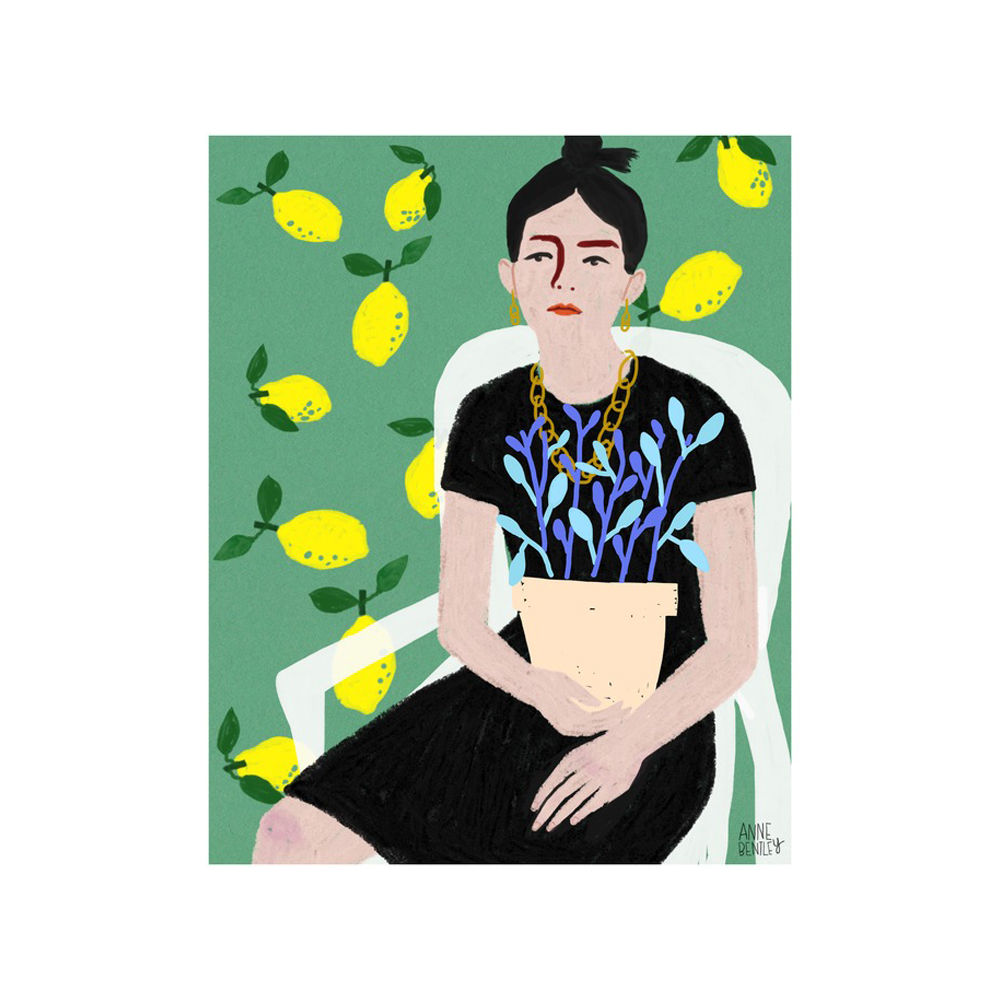 lemon lady  BY ANNE BENTLEY