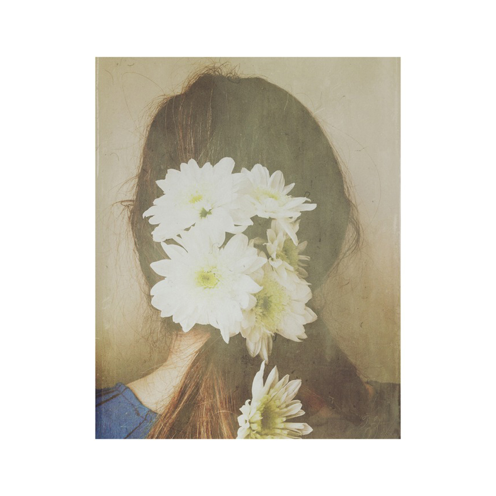 White Flowers in Her Hair  BY OLIVIA JOY STCLAIRE