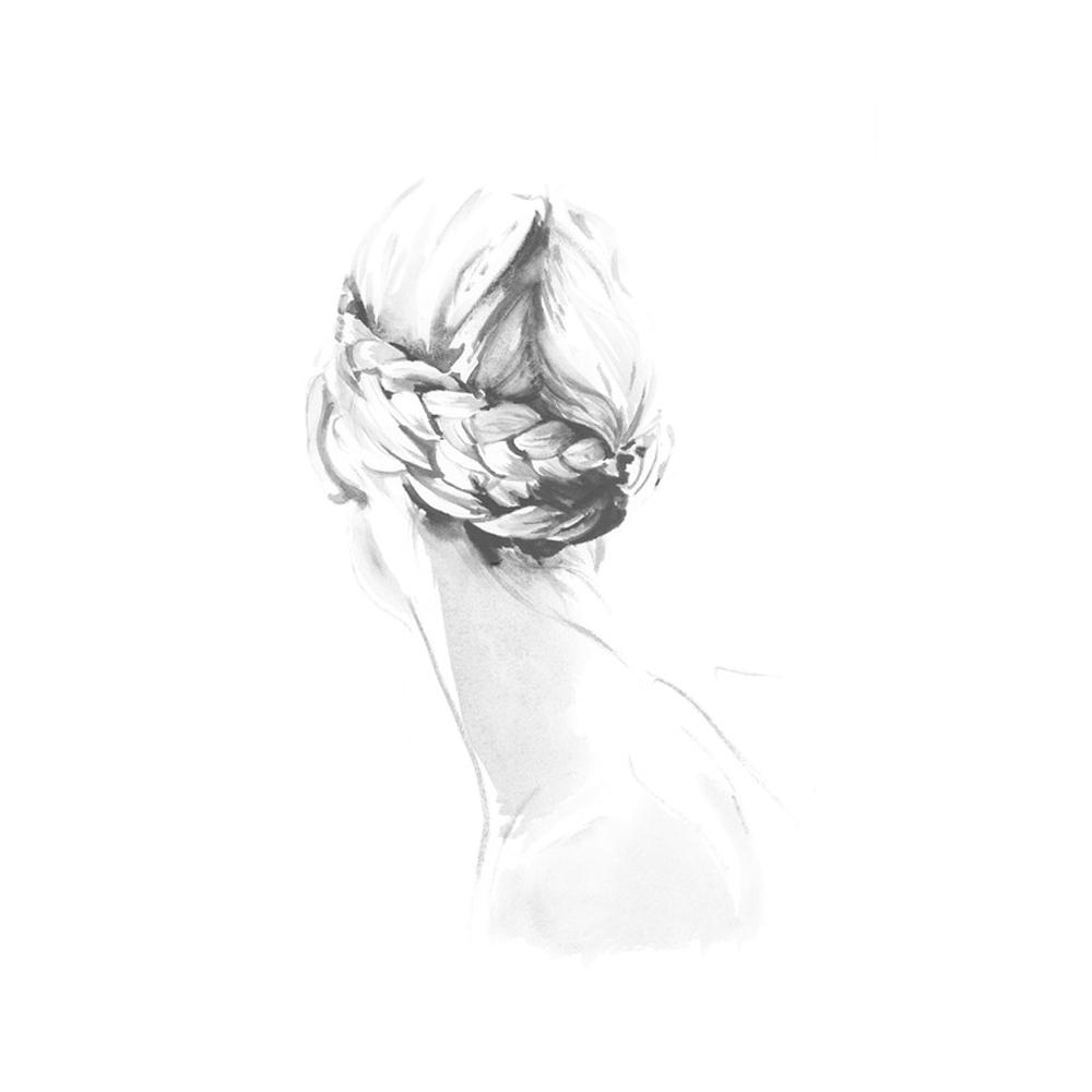Portrait of a Dancer  BY CATE PARR