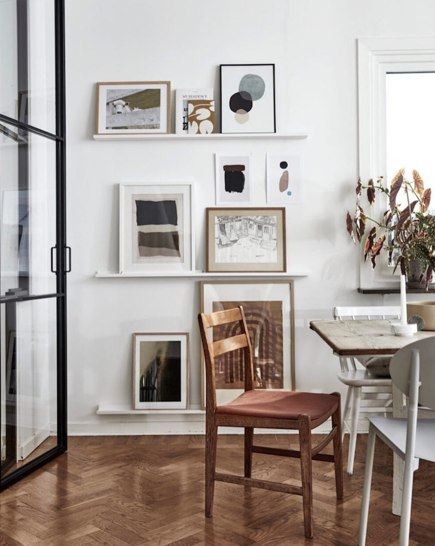 The former Gothenburg home of  @juliamjornstedt  via  @myscandinavianhome