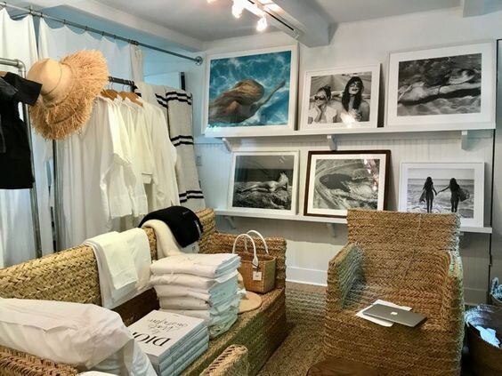 Sag Harbor home and lifestyle shop, Bloom, as photographed by  Habitually Chic .
