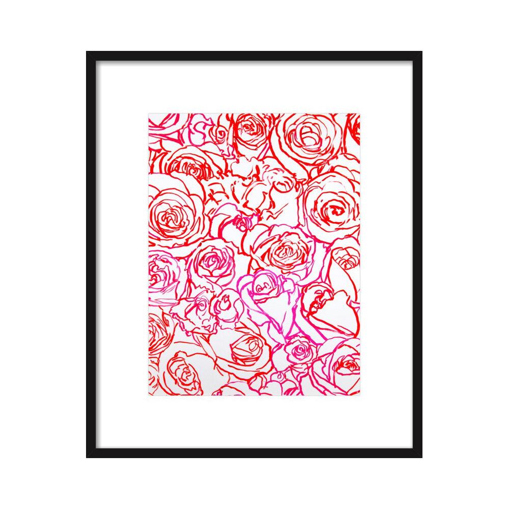 Rose Garden  BY BRIDGETTE THORNTON