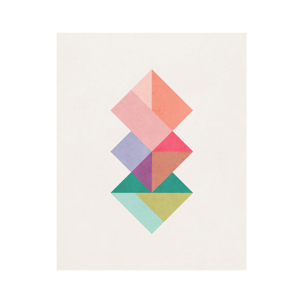 Interlaced squares 5  BY AMALIA LOPEZ - LATTE DESIGN