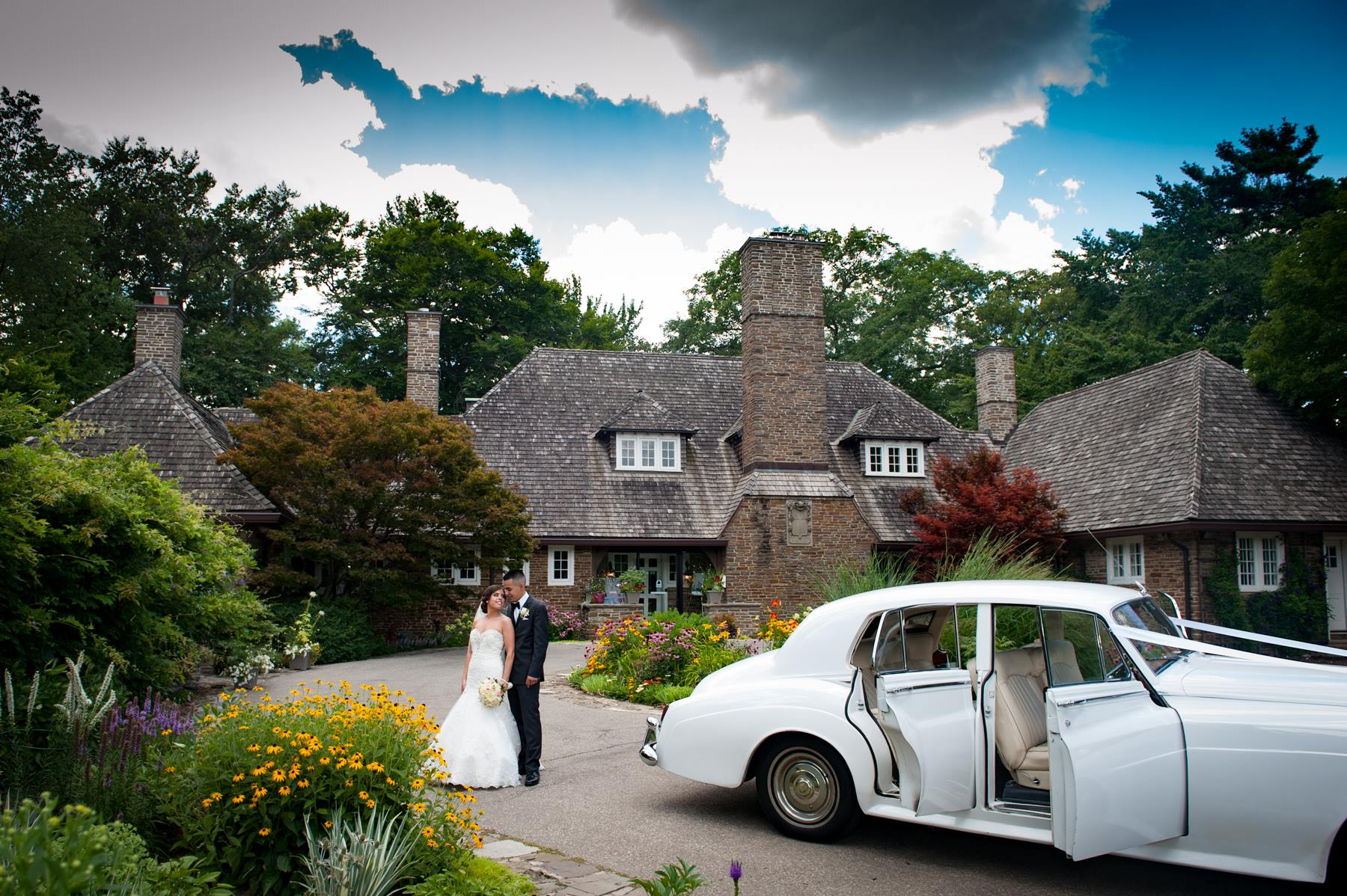 Bride Groom Limo and Mansion
