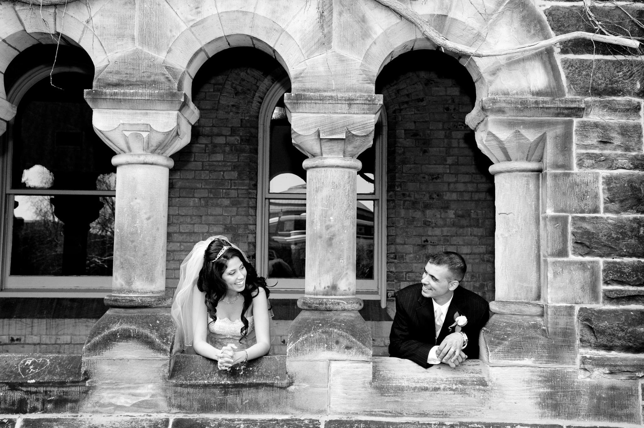 University of Toronto Wedding Photo