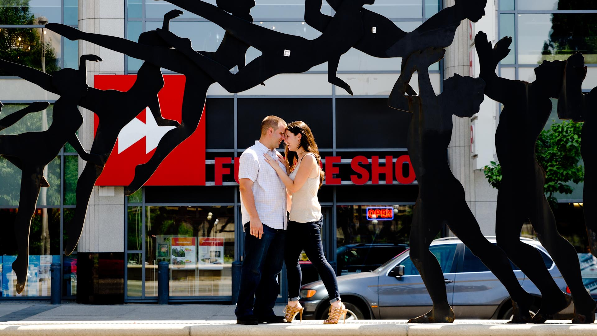 Mel Lastman sq Engagement Photography