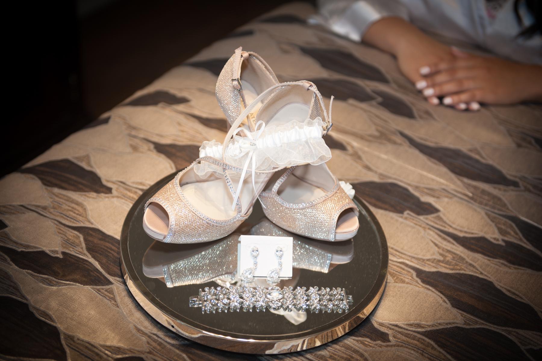 Wedding Shoes & wedding Jewelry