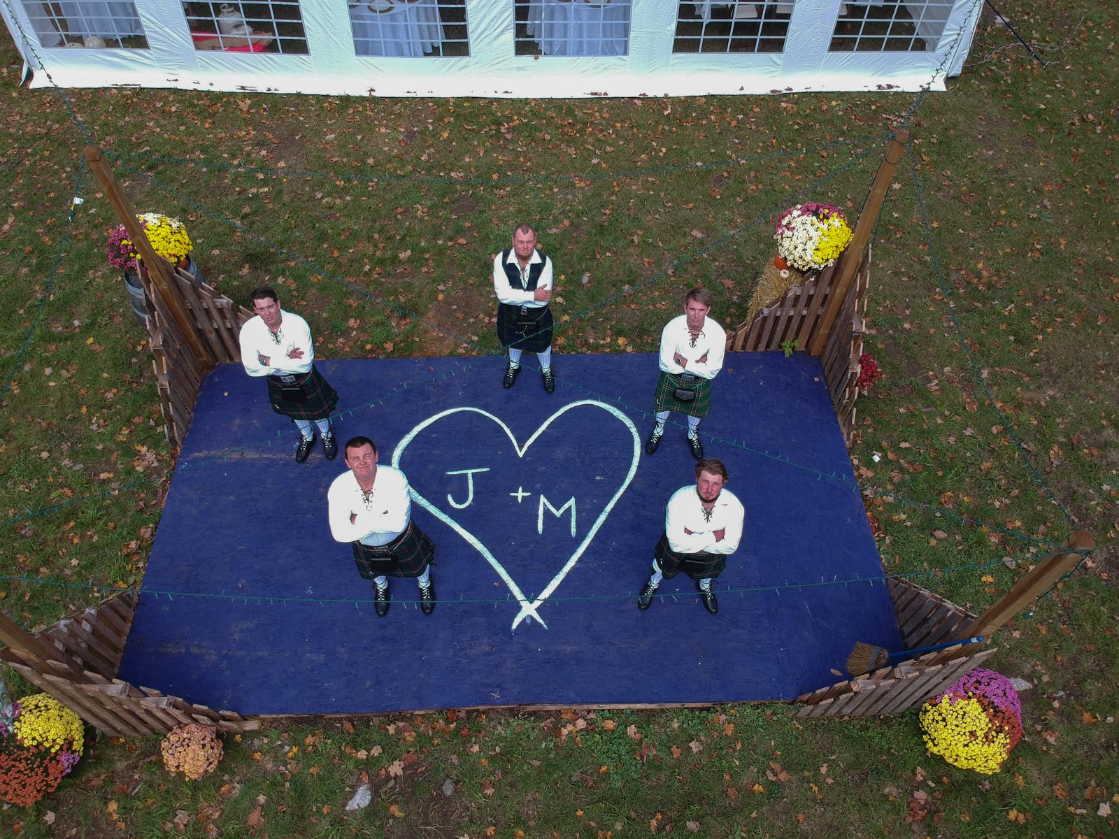 Canadian Scottish Wedding