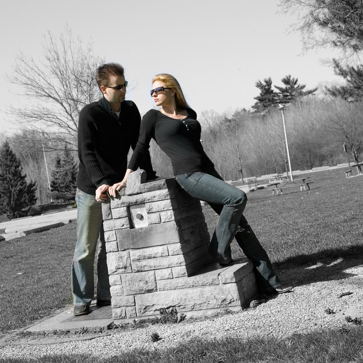 2006 Engagement photograph Toronto Ontario