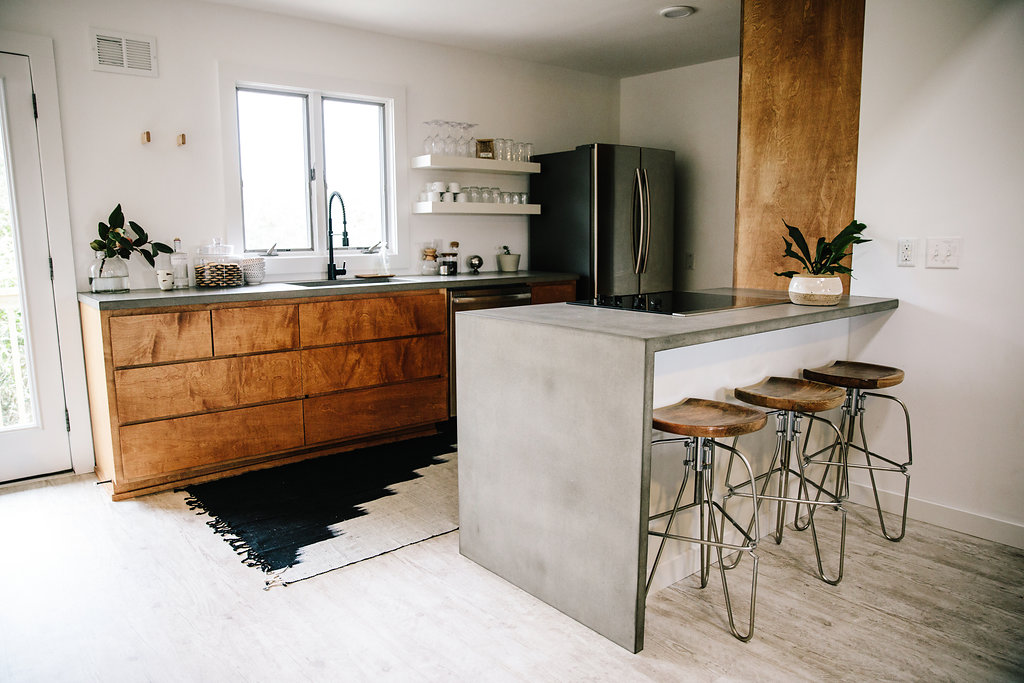 Warm Gray Countertop - Cabinets by Altwood