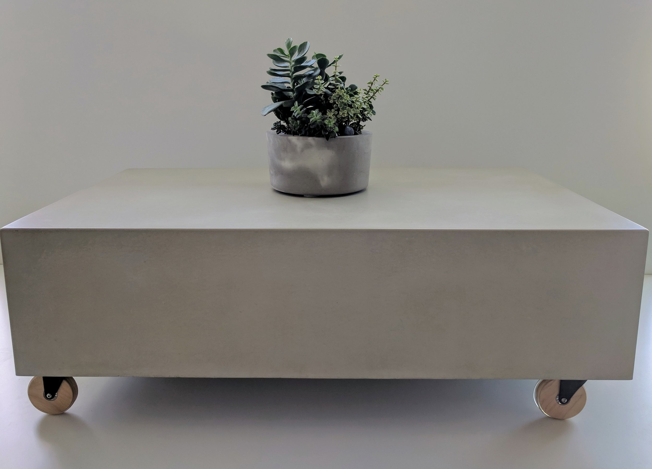 Box Concrete Coffee Table - Collaboration with Modern Beach House Designs