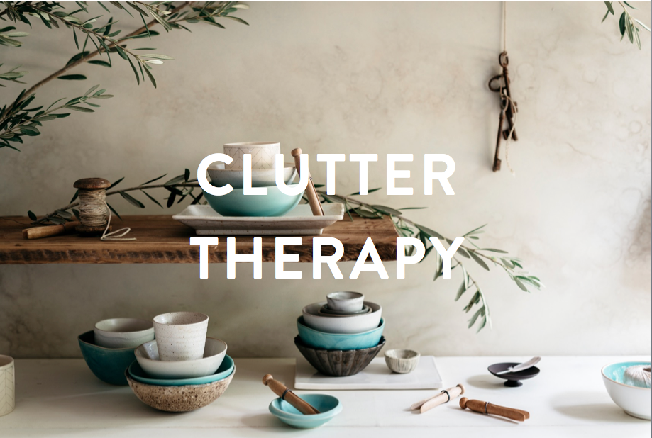 Clutter Therapy   Make your home feel like a Guilty Pleasure!