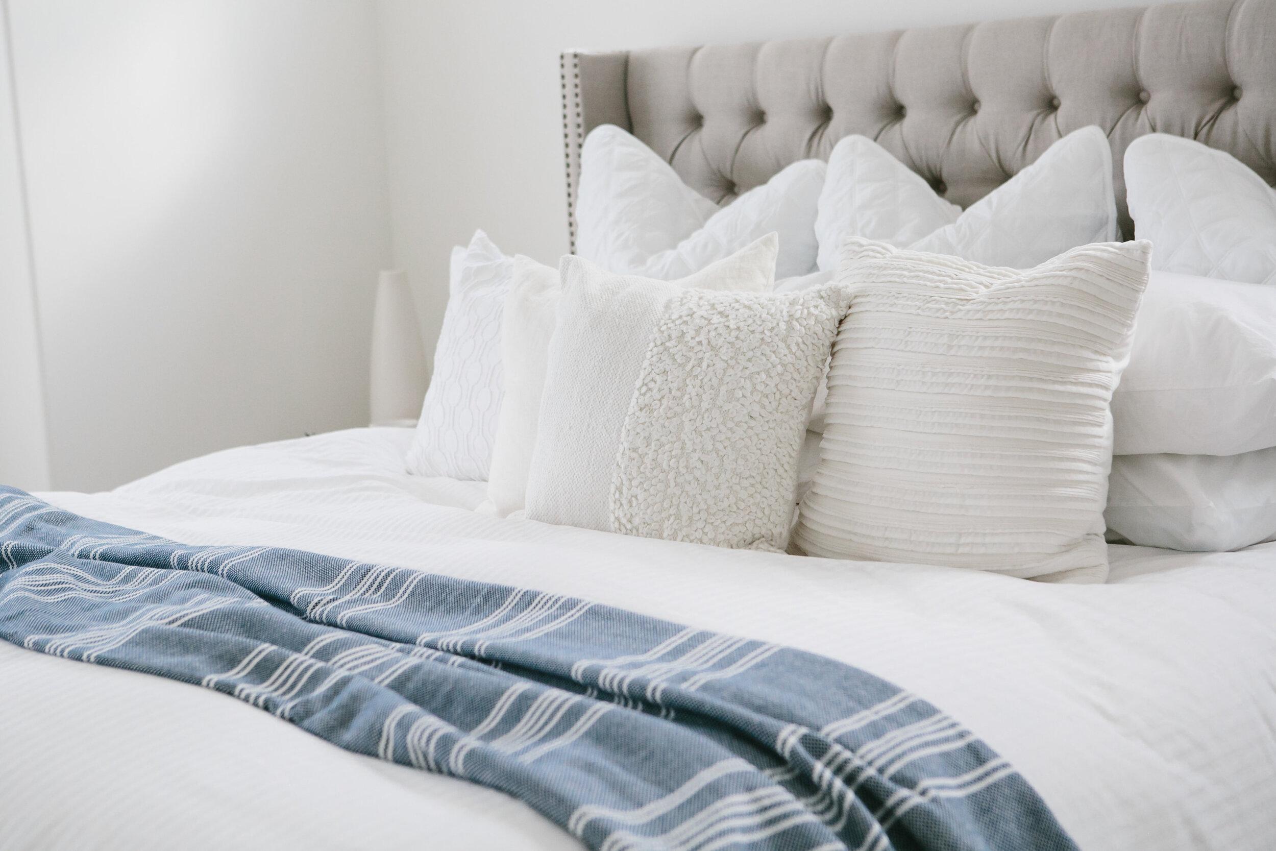 correct pillow sizes