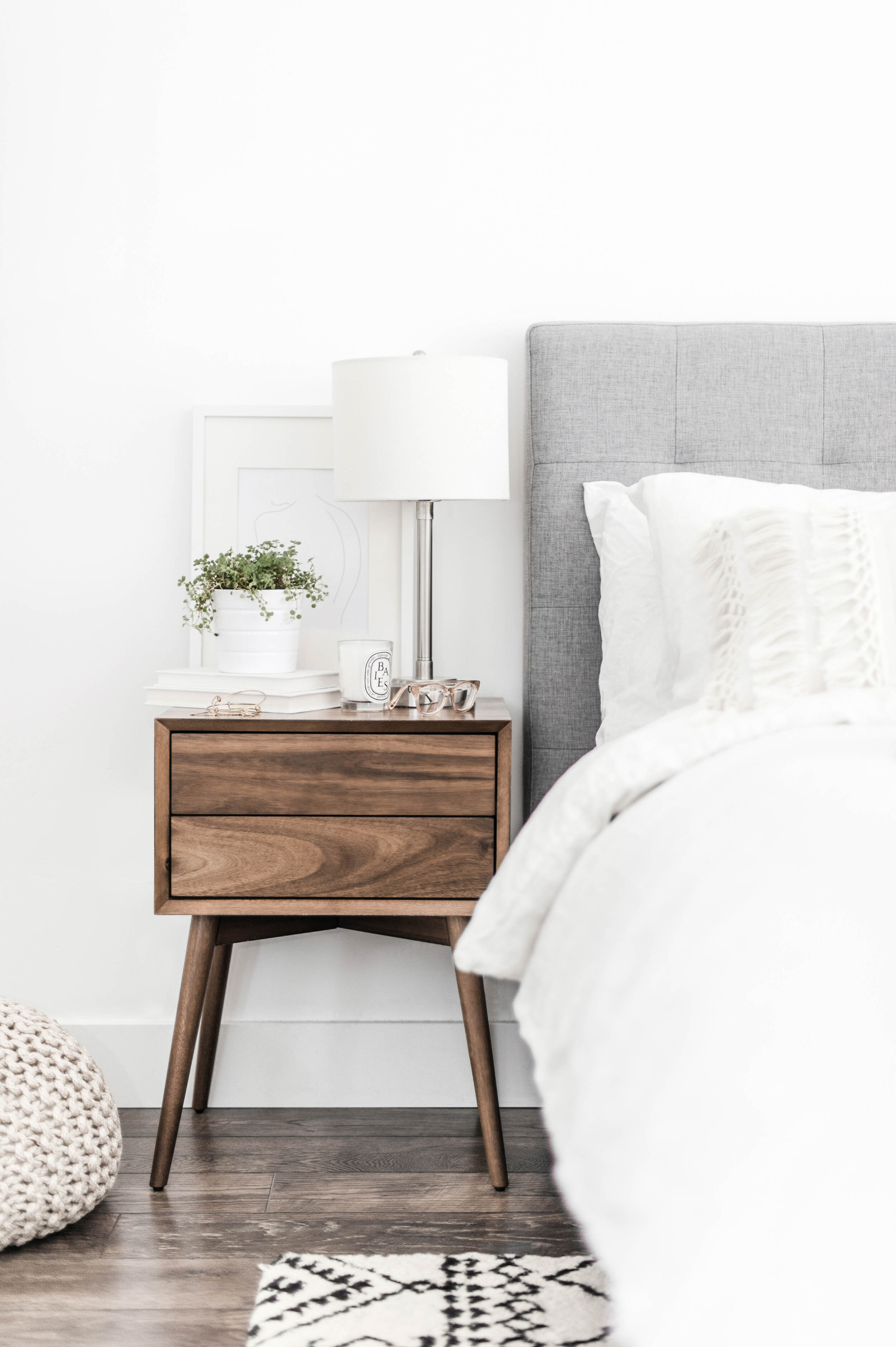 Everything To Know About Placing A Rug Under Your Bed