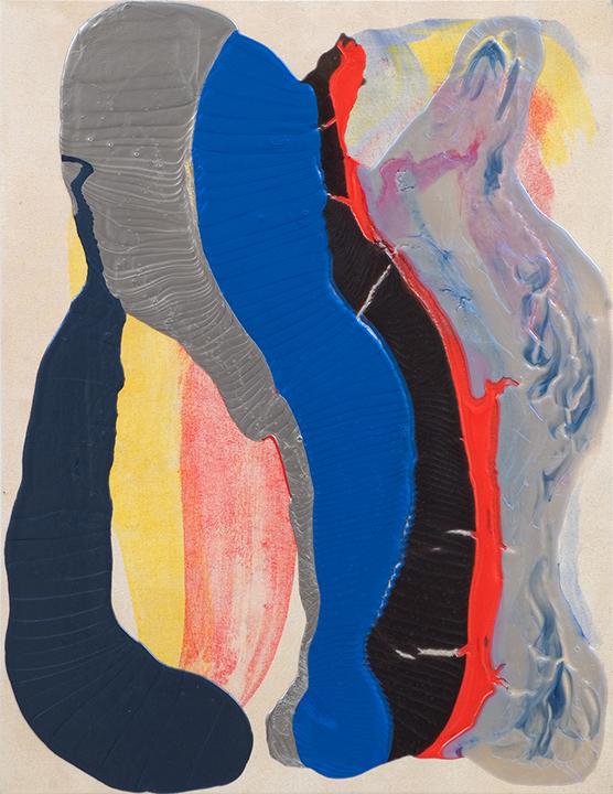 """GATEWAY, 2009, A crylic on Canvas, 42"""" x 29.5"""""""