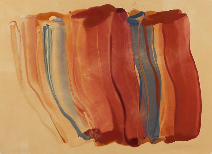 """Silk Road, C4, 2010, A crylic on canvas, 56"""" x 73"""""""