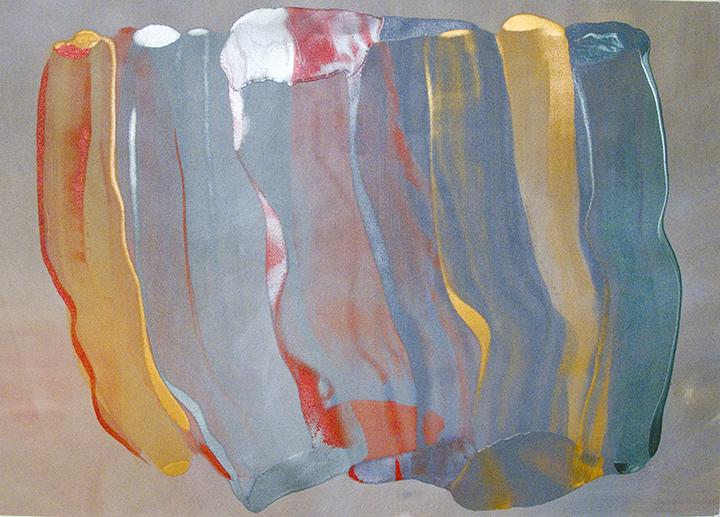 """SEA LIGHT, 2006, A crylic on canvas,  54 1/2"""" x 76"""""""