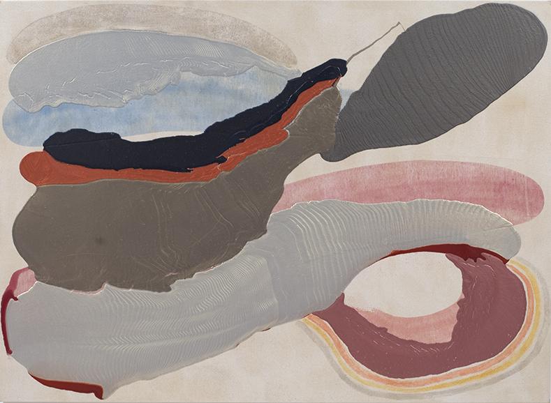 """ADOBE, 2009, A crylic on Canvas, 48"""" x 72"""""""