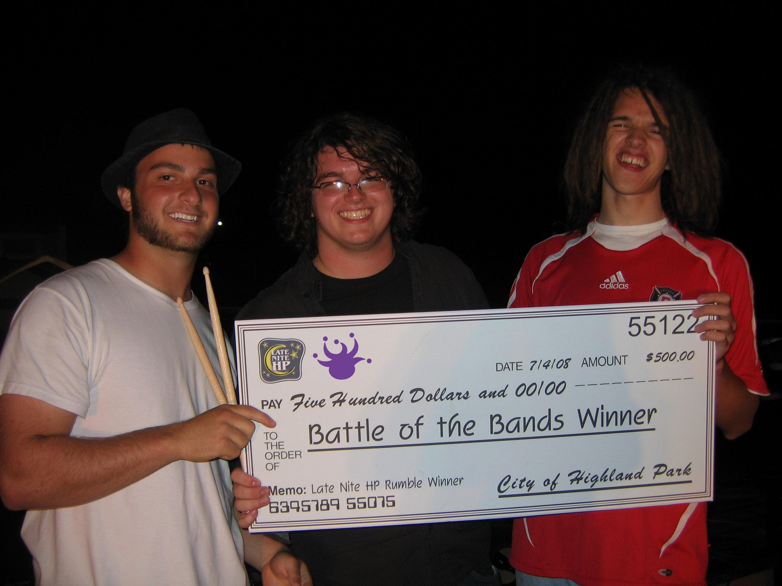"2008 Grand Champions: The Railjacks (formerly ""Drive"")  (photo: Terri Olian)"