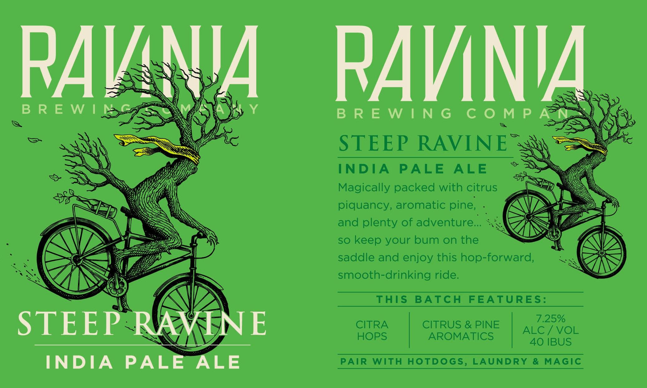 Ravinia Brewing_Poster_Steep Ravine.jpg
